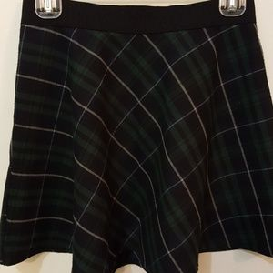Dresses & Skirts - BDG green and black plaid Skirt